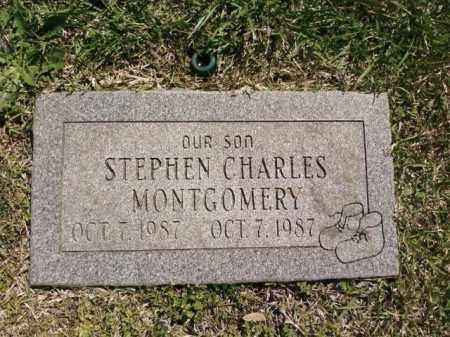 MONTGOMERY, STEPHEN CHARLES - Saline County, Arkansas   STEPHEN CHARLES MONTGOMERY - Arkansas Gravestone Photos
