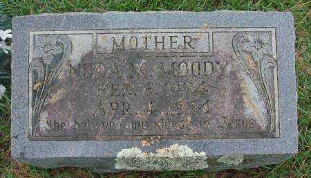 MOODY, NUDA M - Saline County, Arkansas   NUDA M MOODY - Arkansas Gravestone Photos