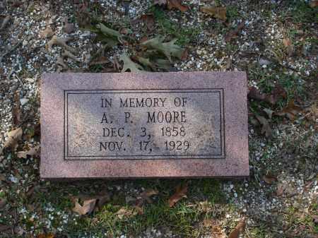 MOORE, A. P. - Saline County, Arkansas | A. P. MOORE - Arkansas Gravestone Photos