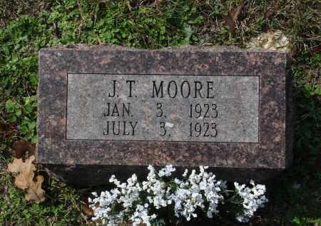 MOORE, J. T. - Saline County, Arkansas | J. T. MOORE - Arkansas Gravestone Photos