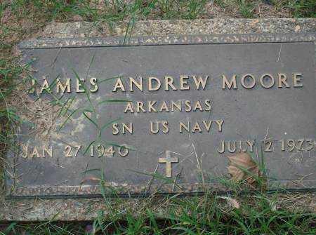 MOORE (VETERAN), JAMES ANDREW - Saline County, Arkansas   JAMES ANDREW MOORE (VETERAN) - Arkansas Gravestone Photos