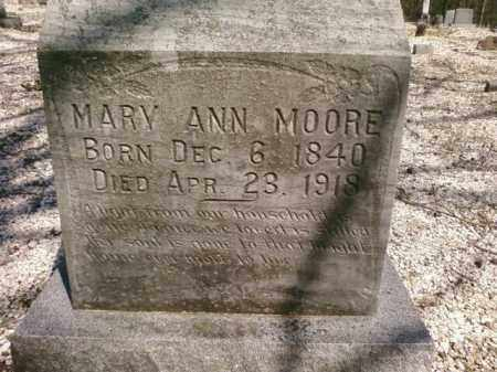 MOORE, MARY ANN - Saline County, Arkansas | MARY ANN MOORE - Arkansas Gravestone Photos