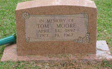 MOORE, TOM - Saline County, Arkansas | TOM MOORE - Arkansas Gravestone Photos