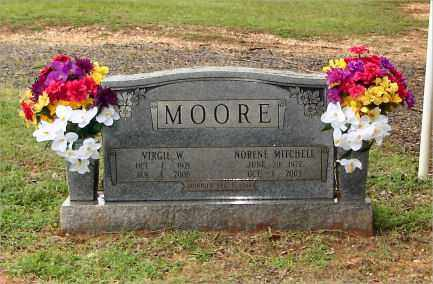 MOORE, VIRGIL - Saline County, Arkansas | VIRGIL MOORE - Arkansas Gravestone Photos