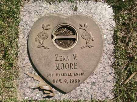 MOORE, ZENA V. - Saline County, Arkansas | ZENA V. MOORE - Arkansas Gravestone Photos
