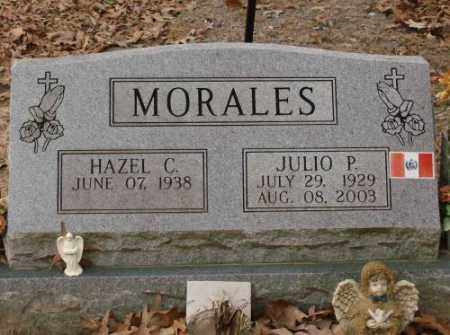 MORALES, JULIO P - Saline County, Arkansas   JULIO P MORALES - Arkansas Gravestone Photos