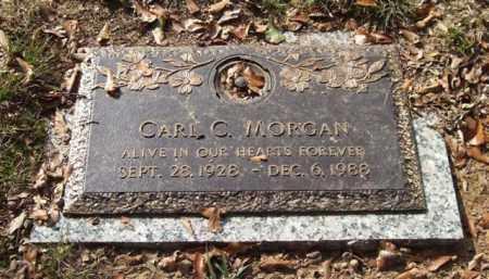 MORGAN, CARL C. - Saline County, Arkansas | CARL C. MORGAN - Arkansas Gravestone Photos