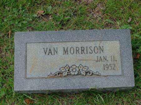 MORRISON, VAN - Saline County, Arkansas | VAN MORRISON - Arkansas Gravestone Photos