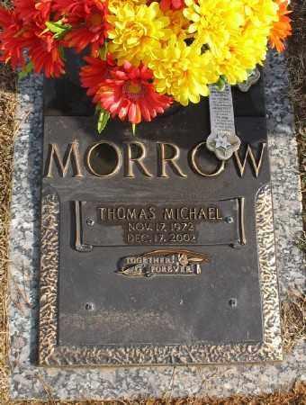 MORROW, THOMAS MICHAEL - Saline County, Arkansas | THOMAS MICHAEL MORROW - Arkansas Gravestone Photos