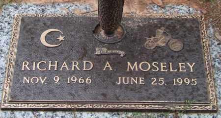 MOSELEY, RICHARD A. - Saline County, Arkansas | RICHARD A. MOSELEY - Arkansas Gravestone Photos