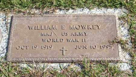 MOWREY (VETERAN WWII), WILLIAM E. - Saline County, Arkansas | WILLIAM E. MOWREY (VETERAN WWII) - Arkansas Gravestone Photos