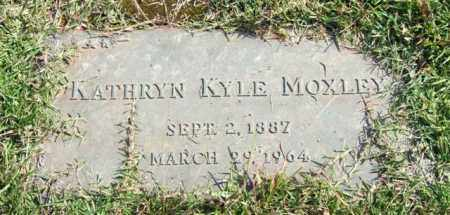 MOXLEY, KATHRYN - Saline County, Arkansas | KATHRYN MOXLEY - Arkansas Gravestone Photos