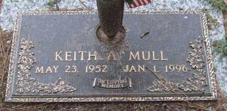 MULL, KEITH A. - Saline County, Arkansas   KEITH A. MULL - Arkansas Gravestone Photos