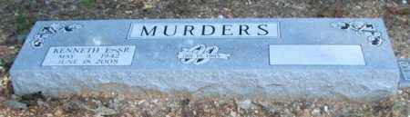 "MURDERS, SR., KENNETH E. ""BULL"" - Saline County, Arkansas 