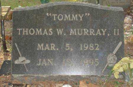 MURRAY,II, THOMAS W - Saline County, Arkansas | THOMAS W MURRAY,II - Arkansas Gravestone Photos