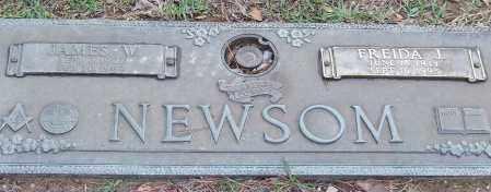NEWSOM, JAMES W. - Saline County, Arkansas | JAMES W. NEWSOM - Arkansas Gravestone Photos