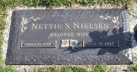 NIELSEN, NETTIE S. - Saline County, Arkansas | NETTIE S. NIELSEN - Arkansas Gravestone Photos
