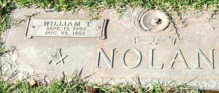 NOLAN, WILLIAM T. - Saline County, Arkansas   WILLIAM T. NOLAN - Arkansas Gravestone Photos