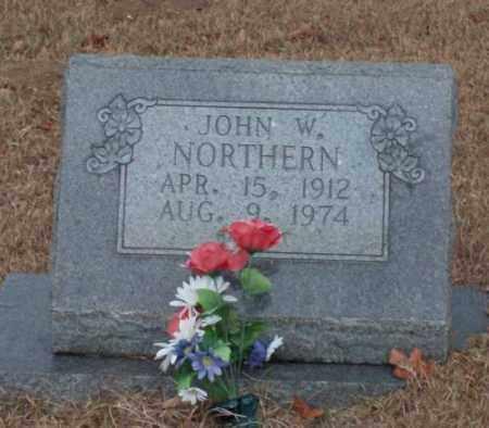 NORTHERN, JOHN W. - Saline County, Arkansas | JOHN W. NORTHERN - Arkansas Gravestone Photos