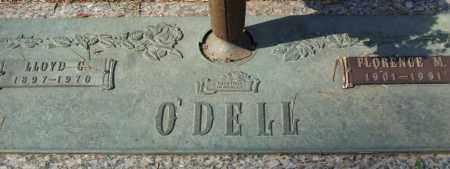 O'DELL, LLOYD G. - Saline County, Arkansas | LLOYD G. O'DELL - Arkansas Gravestone Photos