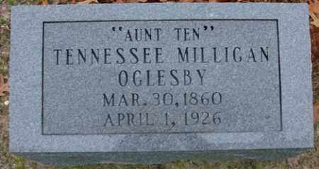 MILLIGAN OGLESBY, TENNESSEE - Saline County, Arkansas | TENNESSEE MILLIGAN OGLESBY - Arkansas Gravestone Photos