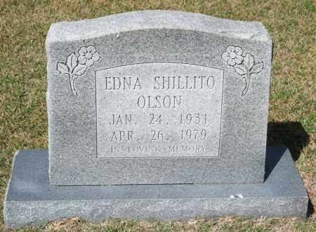 SHILLITO OLSON, EDNA - Saline County, Arkansas | EDNA SHILLITO OLSON - Arkansas Gravestone Photos
