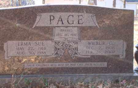PAGE, ERMA SUE - Saline County, Arkansas | ERMA SUE PAGE - Arkansas Gravestone Photos
