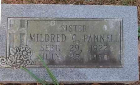 PANNELL, MILDRED C. - Saline County, Arkansas | MILDRED C. PANNELL - Arkansas Gravestone Photos