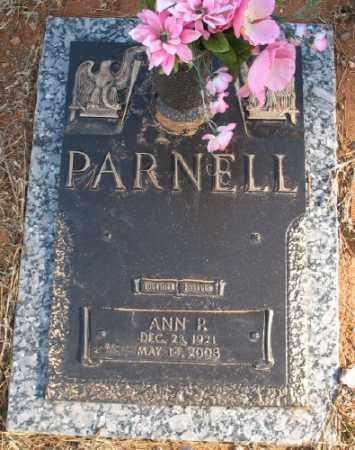 PARNELL, ANN P. - Saline County, Arkansas | ANN P. PARNELL - Arkansas Gravestone Photos