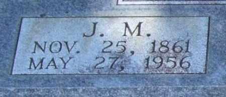 PATTERSON, J. M. (CLOSEUP) - Saline County, Arkansas | J. M. (CLOSEUP) PATTERSON - Arkansas Gravestone Photos