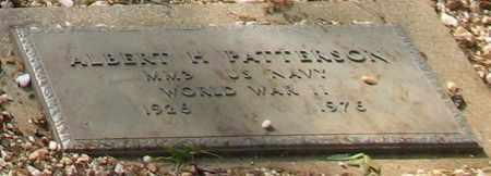PATTERSON (VETERAN WWII), ALBERT H - Saline County, Arkansas   ALBERT H PATTERSON (VETERAN WWII) - Arkansas Gravestone Photos