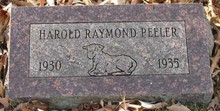 PEELER, HAROLD RAYMOND - Saline County, Arkansas   HAROLD RAYMOND PEELER - Arkansas Gravestone Photos