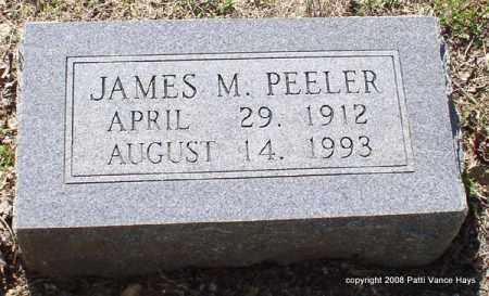 PEELER, JAMES MONROE - Saline County, Arkansas | JAMES MONROE PEELER - Arkansas Gravestone Photos