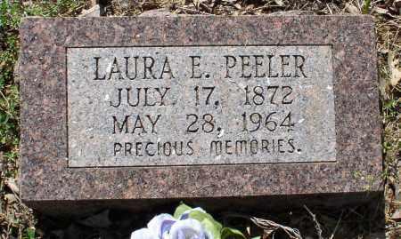 FLETCHER PEELER, LAURA ELLEN - Saline County, Arkansas | LAURA ELLEN FLETCHER PEELER - Arkansas Gravestone Photos