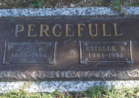 PERCEFULL, JOHN F. - Saline County, Arkansas | JOHN F. PERCEFULL - Arkansas Gravestone Photos