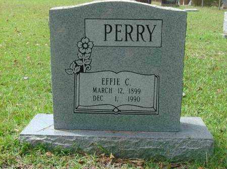 PERRY, EFFIE - Saline County, Arkansas   EFFIE PERRY - Arkansas Gravestone Photos