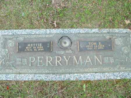 PERRYMAN, METTIE - Saline County, Arkansas | METTIE PERRYMAN - Arkansas Gravestone Photos