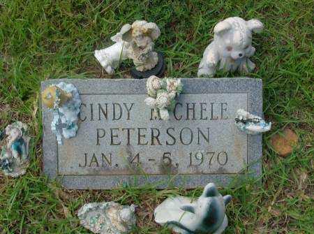PETERSON, CINDY - Saline County, Arkansas   CINDY PETERSON - Arkansas Gravestone Photos