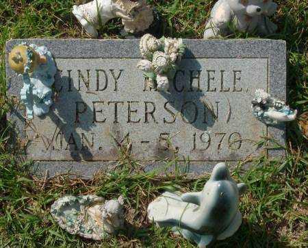 PETERSON, CINDY MICHELLE - Saline County, Arkansas | CINDY MICHELLE PETERSON - Arkansas Gravestone Photos