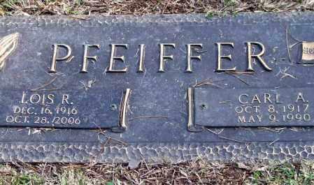 PFEIFFER, LOIS R. - Saline County, Arkansas | LOIS R. PFEIFFER - Arkansas Gravestone Photos