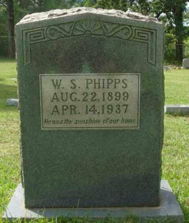 PHIPPS, W.S. - Saline County, Arkansas | W.S. PHIPPS - Arkansas Gravestone Photos