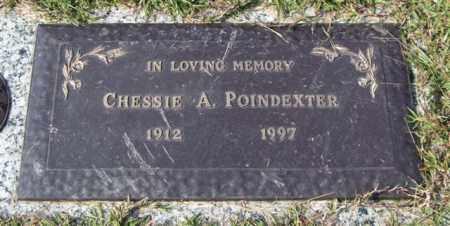 POINDEXTER, CHESSIE A. - Saline County, Arkansas   CHESSIE A. POINDEXTER - Arkansas Gravestone Photos
