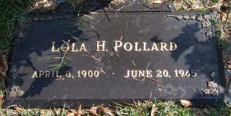 POLLARD, LOLA H. - Saline County, Arkansas   LOLA H. POLLARD - Arkansas Gravestone Photos