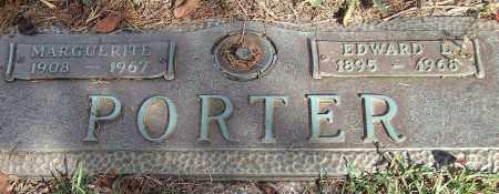 PORTER, EDWARD L. - Saline County, Arkansas | EDWARD L. PORTER - Arkansas Gravestone Photos