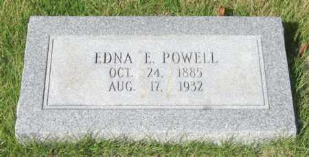 POWELL, EDNA E. - Saline County, Arkansas | EDNA E. POWELL - Arkansas Gravestone Photos