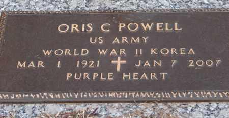 POWELL (VETERAN 2 WARS), ORIS C - Saline County, Arkansas   ORIS C POWELL (VETERAN 2 WARS) - Arkansas Gravestone Photos