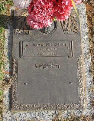 PRESNELL, M. JOAN - Saline County, Arkansas   M. JOAN PRESNELL - Arkansas Gravestone Photos