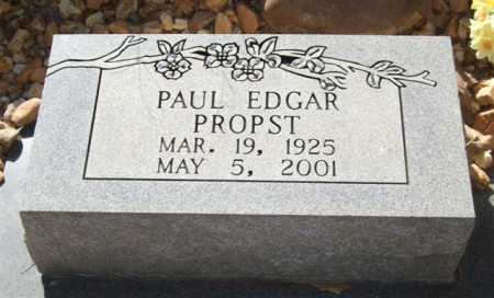 PROPST, PAUL EDGAR - Saline County, Arkansas | PAUL EDGAR PROPST - Arkansas Gravestone Photos