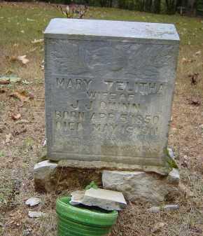 QUINN, MARY TELITHA - Saline County, Arkansas | MARY TELITHA QUINN - Arkansas Gravestone Photos