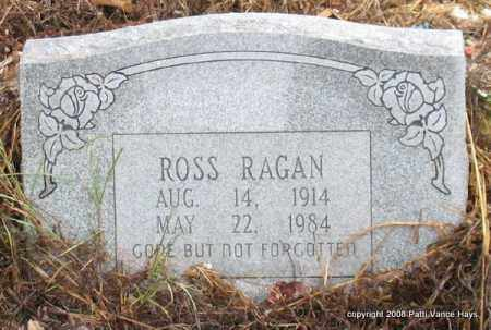 RAGAN, ROSS - Saline County, Arkansas | ROSS RAGAN - Arkansas Gravestone Photos